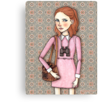 Suzy from Moonrise Kingdom Canvas Print