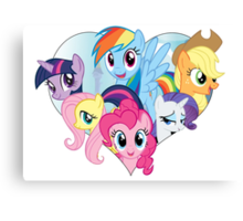 My Little Pony - Heart Canvas Print