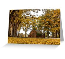 From the Ground up! - Uralla NSW Australia Greeting Card