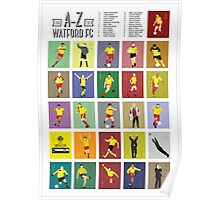 Watford A to Z Poster