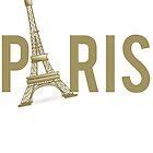 Paris Eiffel Tower by mralan