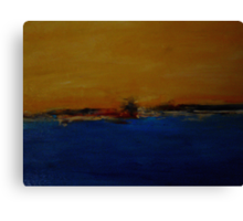The Battery Canvas Print