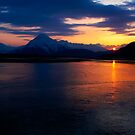 Alaskan Sunset by Margaret Goodwin