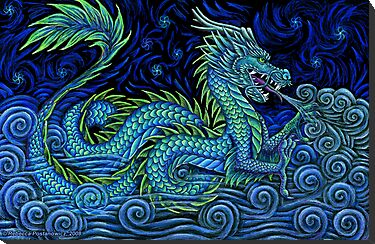 Puff the Magic Dragon by Rebecca Wang