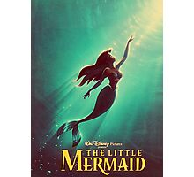 The Little Mermaid Movie Poster Photographic Print