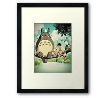 """My Neighbor Totoro """"Family Photo"""" Framed Print"""