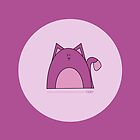Purple Cat by Louise Parton