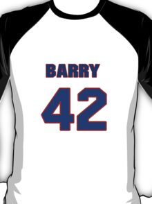 National baseball player Barry Bonds jersey 42 T-Shirt