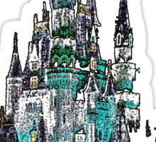 Cinderella Castle Sticker