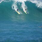 Mick Fanning Waimea Bay by kevin smith  skystudiohawaii