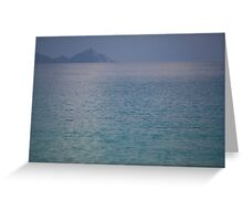 Quiet Water One Greeting Card