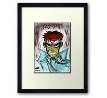 Anger Is a Weapon Framed Print
