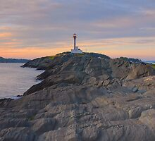 Cape Forchu Lighthouse - Nova Scotia, Canada by Howard Simpson