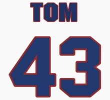 National baseball player Tom Griffin jersey 43 by imsport