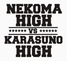HAIKYUU! NEKOMA VS KARASUNO Kids Clothes