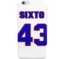 National baseball player Sixto Lezcano jersey 43 iPhone Case/Skin