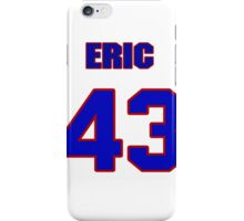 National baseball player Eric Ludwick jersey 43 iPhone Case/Skin
