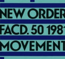 Movement- New Order Sticker