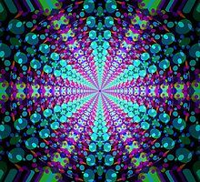 Abstract / Psychedelic / Geometric Artwork by bradyarnold