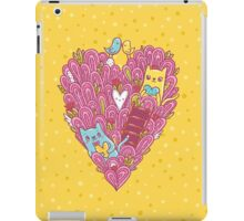 Valentine's cats iPad Case/Skin