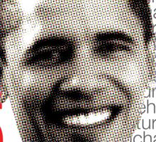 Obama is... Sticker