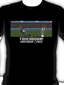 Tecmo Bowl Touchdown Marshawn Lynch T-Shirt