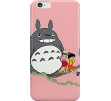 Totoro, Satsuki, Mei, and Others iPhone Case/Skin