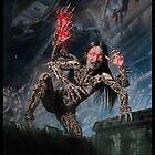 Cyberpunk Painting 044 by Ian Sokoliwski