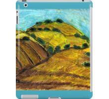 California Hills In Summer(Fields Of Gold) iPad Case/Skin