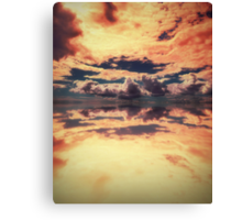 Heaven's New Hell Canvas Print