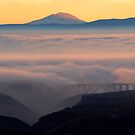 Last Light over Mt. Adams by DawsonImages
