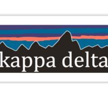 kappa delta sticker  Sticker