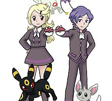 Ace Trainers Would Like to Battle! by SailorMoonie
