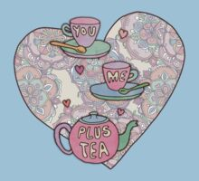 You, me, plus tea. Kids Clothes