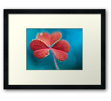 You turn my heart every which way. Framed Print