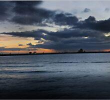St Kilda Panorama by Melinda Kerr