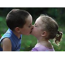 Sweetest Kiss Photographic Print