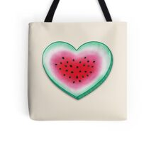 Summer Love - Watermelon Heart Tote Bag