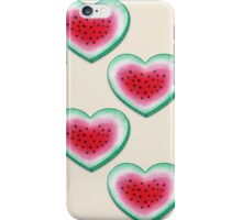 Summer Love - Watermelon Heart iPhone Case/Skin