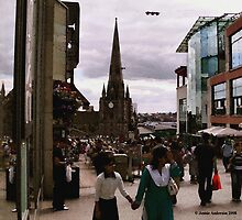 City Hustle and Bustle by Jennie Anderson
