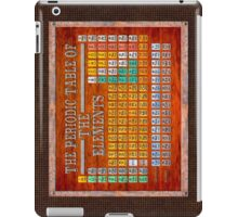 Victorian Style Periodic Table Of The Elements iPad Case/Skin