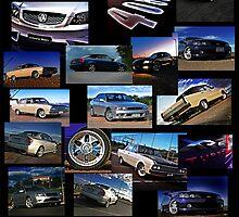 J.G Auto Image Collage by Jon Gellweiler