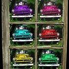 cars under glass by Denise DiGiovanna