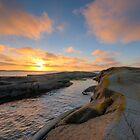 archipelago sunset cove by Hogne