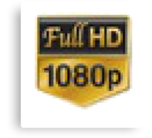 Full HD 1080p Canvas Print