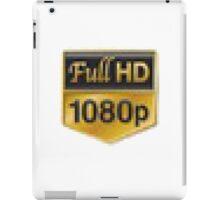 Full HD 1080p iPad Case/Skin