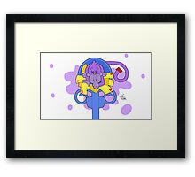 There's A Monkey Hiding In My Mail! Framed Print