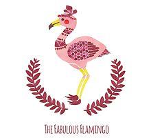 The Fabulous Flamingo by haidishabrina