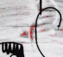 Handy the Graffiti Monster Sticker