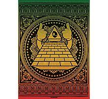 Ultra Pyramid Photographic Print